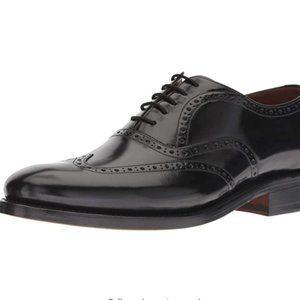 NWT Bostonian Wingtip Black Oxford Dress Shoes 13